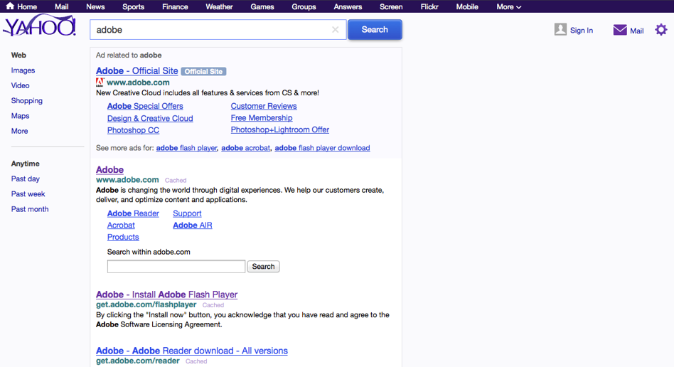 Yahoo Search Connector For Adobe Media Optimizer