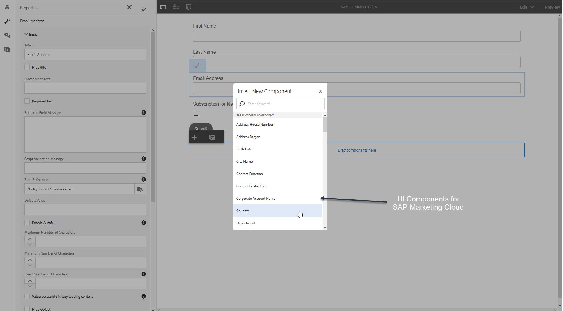 SAP Marketing Cloud, plug-in